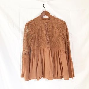 American Eagle Outfitters boho style blouse